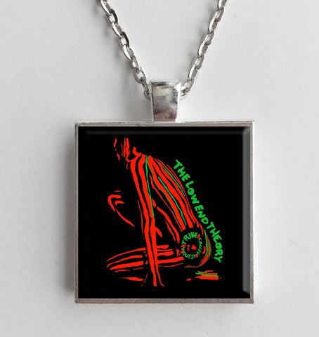 A Tribe Called Quest - The Low End Theory - Album Cover Art Pendant Necklace - Hollee