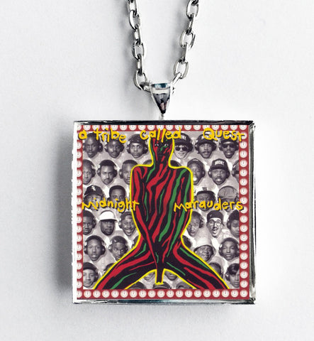 A Tribe Called Quest - Midnight Marauders - Album Cover Art Pendant Necklace