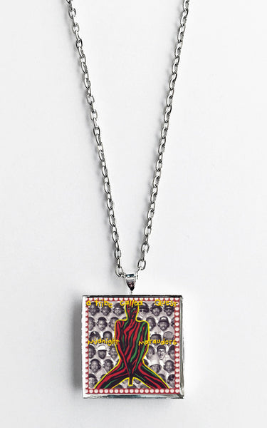 A Tribe Called Quest - Midnight Marauders - Album Cover Art Pendant Necklace - Hollee