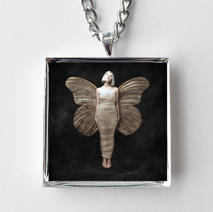 Aurora - All My Demons Greeting Me - Album Cover Art Pendant Necklace - Hollee