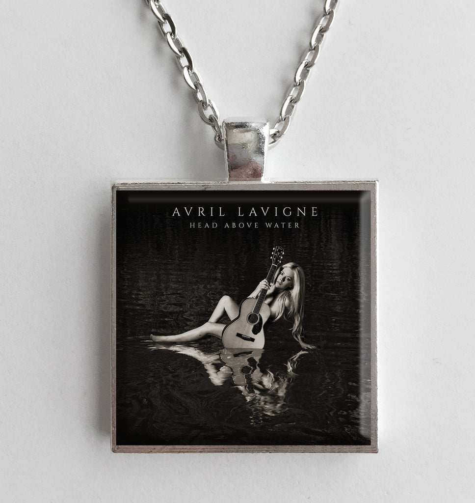 Avril Lavigne - Head Above Water - Album Cover Art Pendant Necklace - Hollee