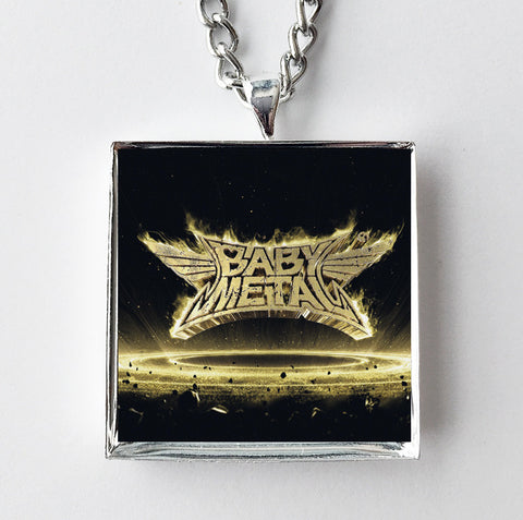 BabyMetal - Metal Resistance- Album Cover Art Pendant Necklace - Hollee
