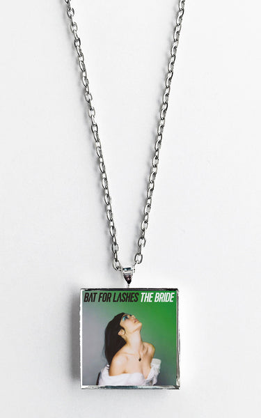 Bat For Lashes - The Bride - Album Cover Art Pendant Necklace - Hollee