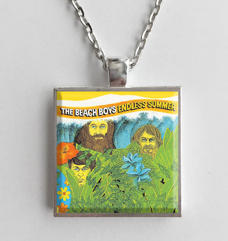 The Beach Boys - Endless Summer - Album Cover Art Pendant Necklace - Hollee