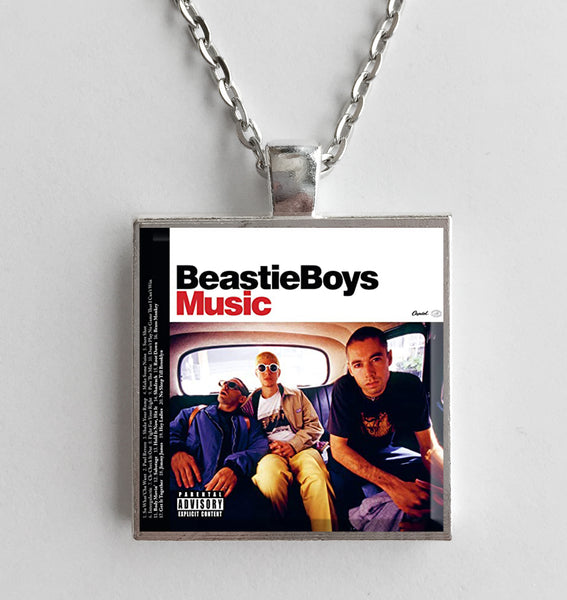 Beastie Boys - Music - Album Cover Art Pendant Necklace