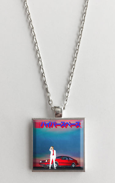 Beck - Hyperspace - Album Cover Art Pendant Necklace - Hollee
