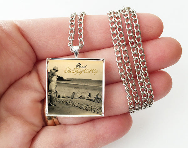 Beirut - The Flying Club Cup - Album Cover Art Pendant Necklace