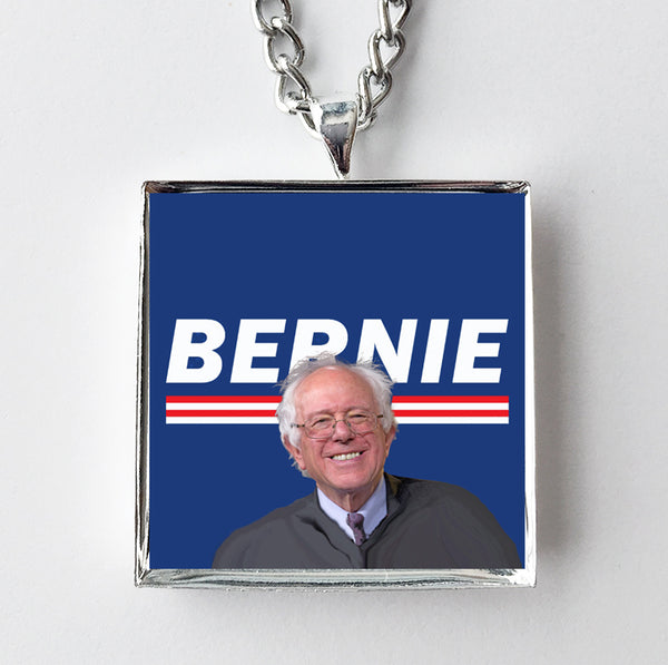 Bernie Sanders for President Campaign Pendant Necklace - Hollee