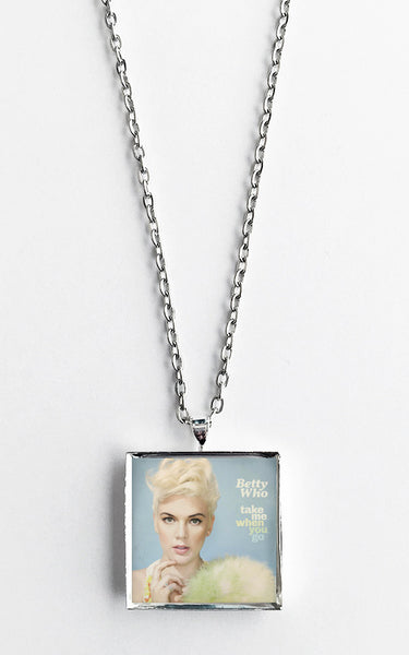 Betty Who - Take Me When You Go - Album Cover Art Pendant Necklace - Hollee