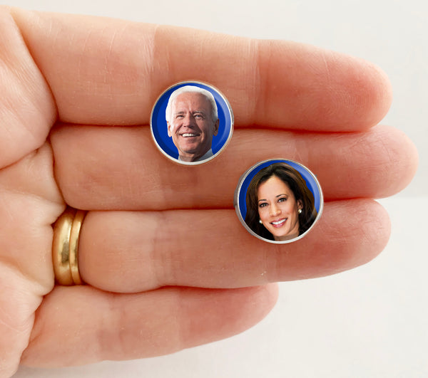 Joe Biden & Kamala Harris Presidential Campaign Earrings