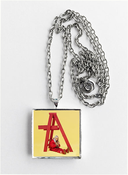 Billie Eilish - Don't Smile at Me - Album Cover Art Pendant Necklace - Hollee