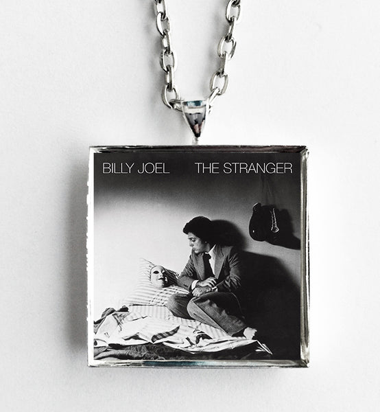 Billy Joel - The Stranger - Album Cover Art Pendant Necklace - Hollee