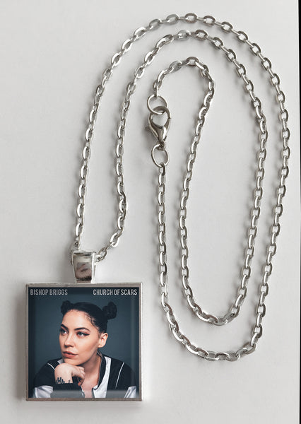 Bishop Briggs - Church of Scars - Album Cover Art Pendant Necklace - Hollee