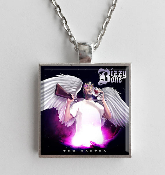 Bizzy Bone - The Mantra - Album Cover Art Pendant Necklace