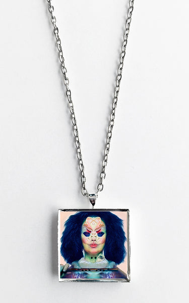 Bjork - Utopia - Album Cover Art Pendant Necklace