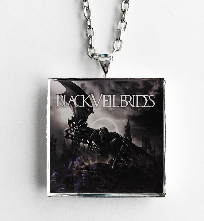Black Veil Brides - Self Titled - Album Cover Art Pendant Necklace - Hollee