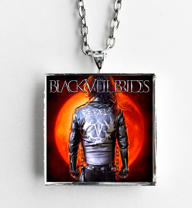 Black Veil Brides - Rebels EP - Album Cover Art Pendant Necklace - Hollee