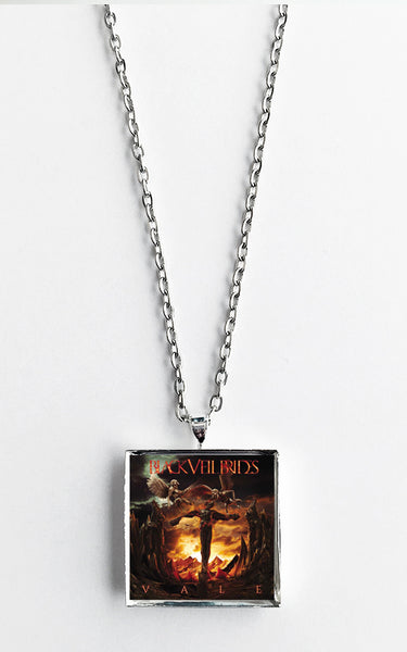 Black Veil Brides - Vale - Album Cover Art Pendant Necklace - Hollee
