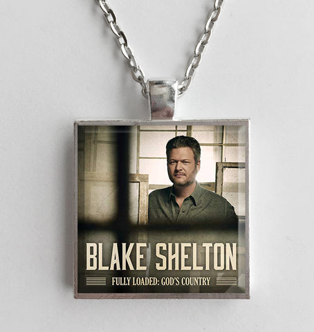 Blake Shelton - Fully Loaded: God's Country - Album Cover Art Pendant Necklace - Hollee