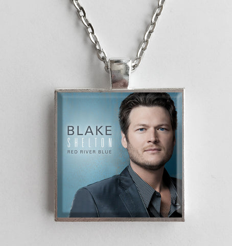 Blake Shelton - Red River Blue - Album Cover Art Pendant Necklace - Hollee