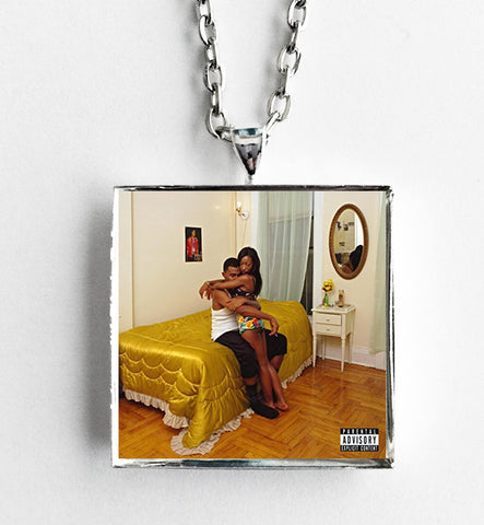 Blood Orange - Freetown Sound - Album Cover Art Pendant Necklace - Hollee