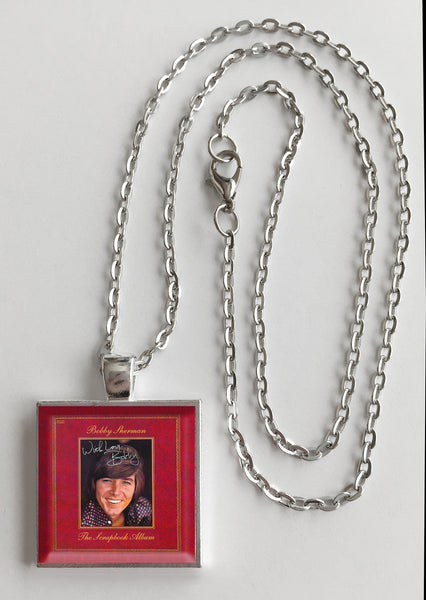 Bobby Sherman - The Scrapbook Album - Album Cover Art Pendant Necklace - Hollee