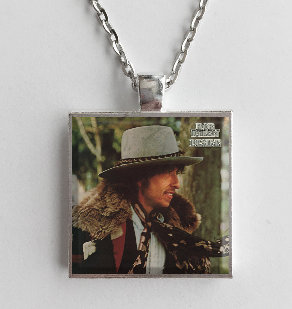 Bob Dylan - Desire - Album Cover Art Pendant Necklace - Hollee