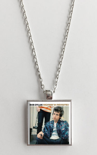 Bob Dylan - Highway 61 Revisited - Album Cover Art Pendant Necklace - Hollee