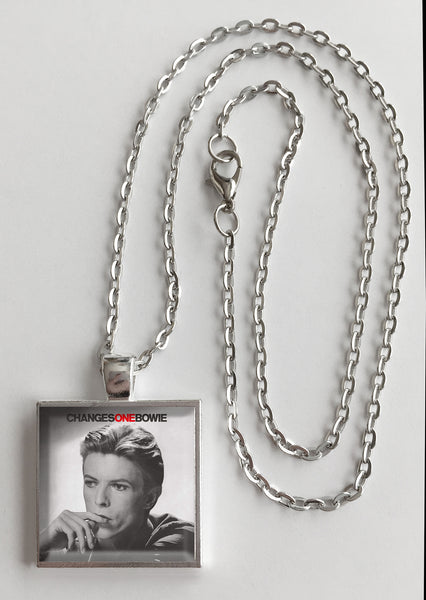 David Bowie - Changes One - Album Cover Art Pendant Necklace - Hollee