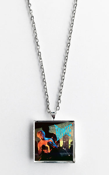 David Bowie - Let's Dance - Album Cover Art Pendant Necklace - Hollee