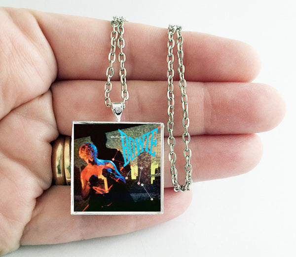 David Bowie - Let's Dance - Album Cover Art Pendant Necklace