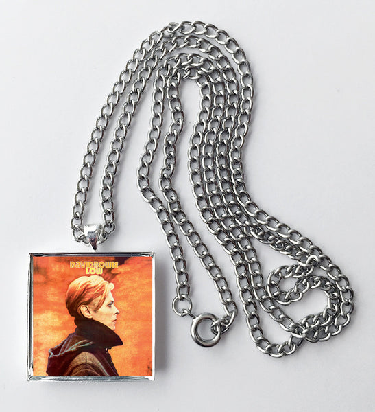 David Bowie - Low - Album Cover Art Pendant Necklace - Hollee