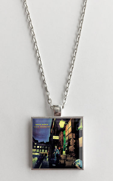 David Bowie - Ziggy Stardust - Album Cover Art Pendant Necklace - Hollee