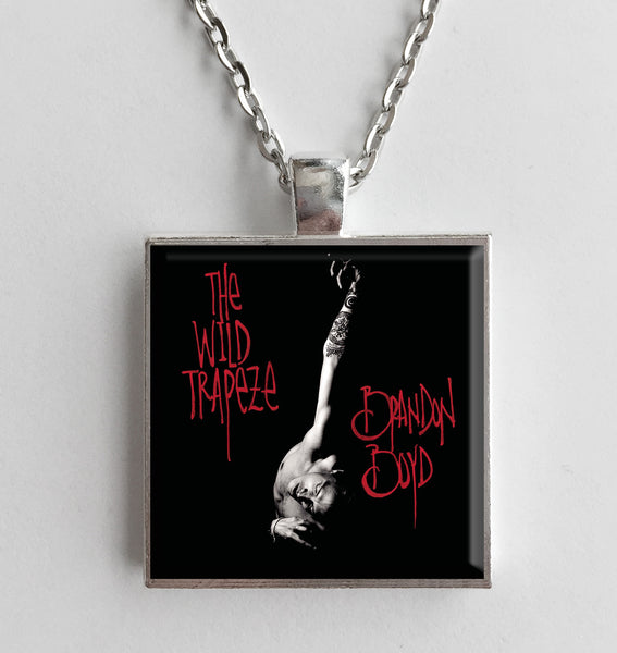 Brandon Boyd - The Wild Trapeze - Album Cover Art Pendant Necklace - Hollee