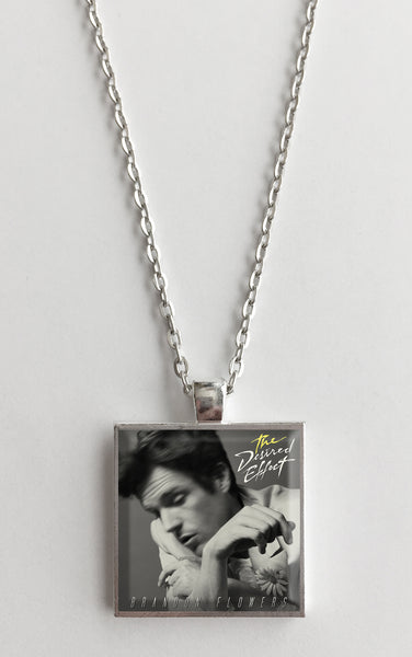 Brandon Flowers - The Desired Effect - Album Cover Art Pendant Necklace - Hollee