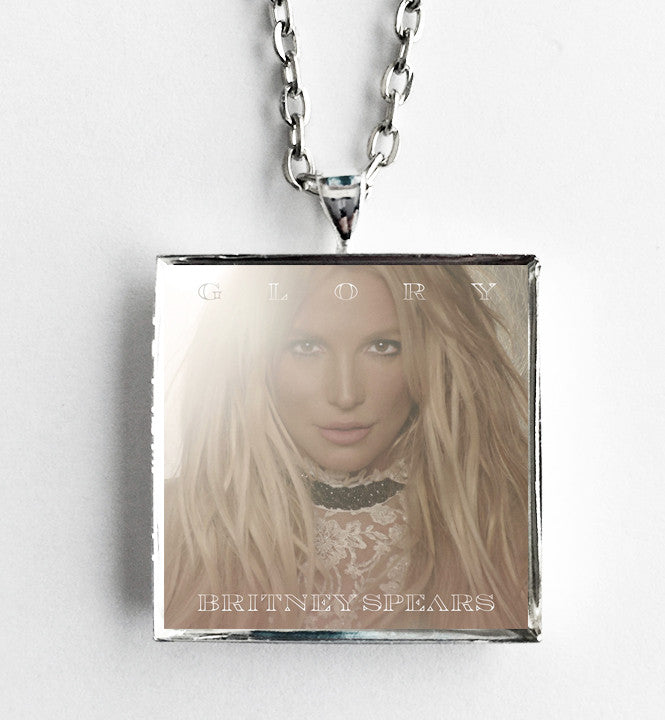 Britney Spears - Glory - Album Cover Art Pendant Necklace - Hollee