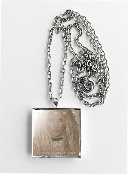 Britney Spears - Glory - Album Cover Art Pendant Necklace
