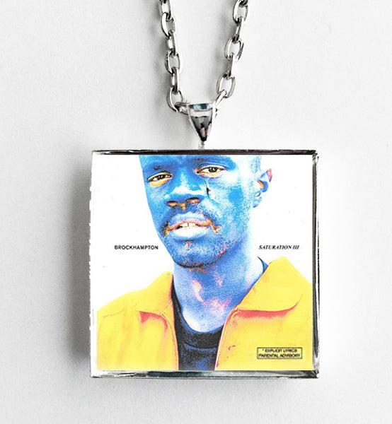 BROCKHAMPTON - Saturation III - Album Cover Art Pendant Necklace - Hollee