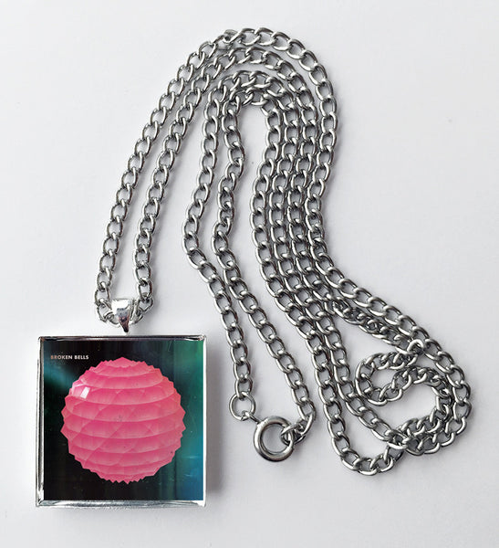 Broken Bells - Debut - Album Cover Art Pendant Necklace - Hollee