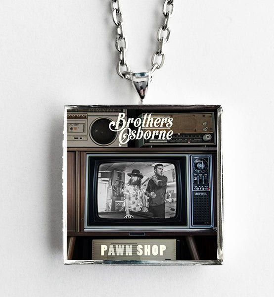 Brothers Osborne - Pawn Shop - Album Cover Art Pendant Necklace - Hollee