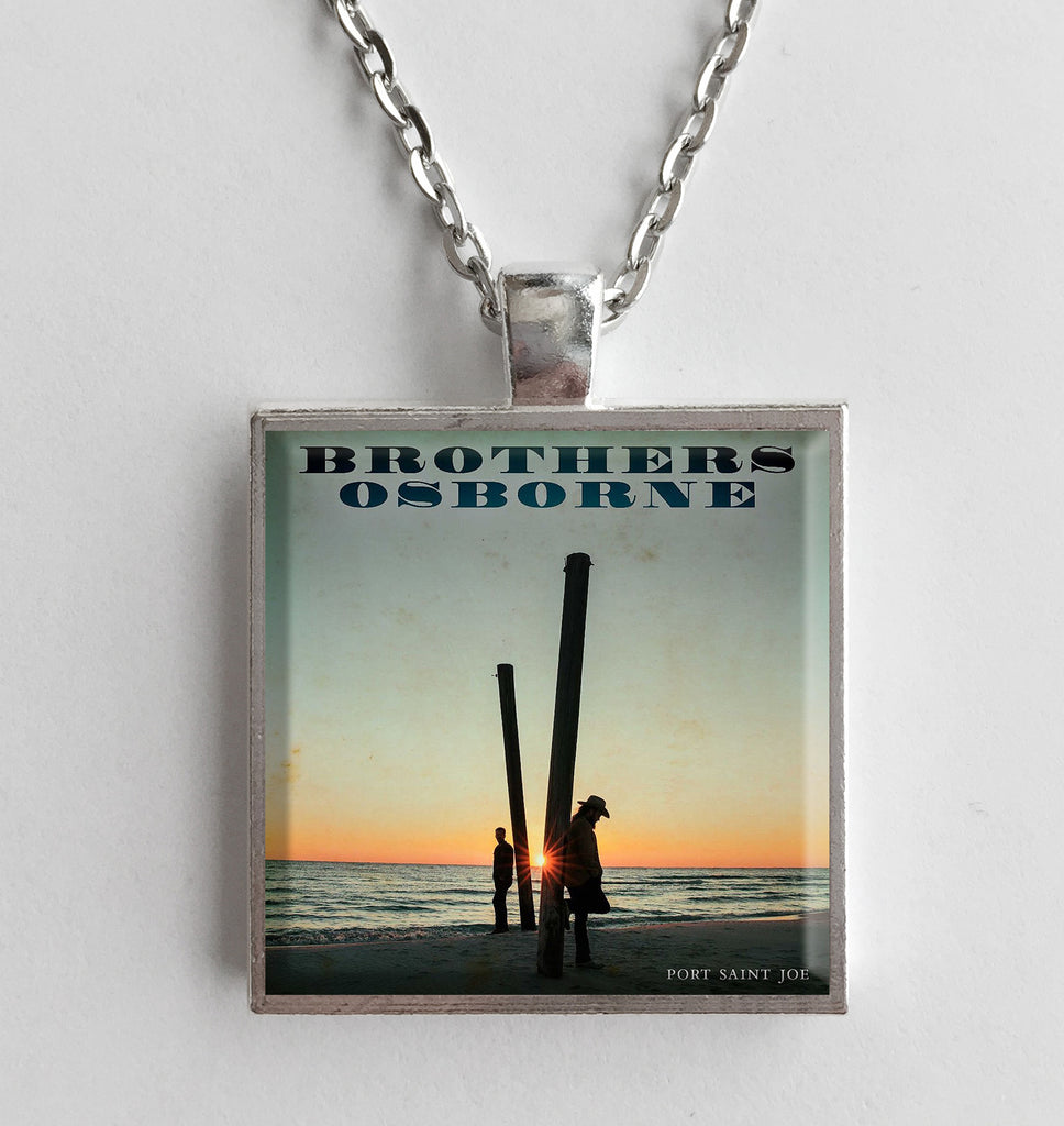 Brothers Osborne - Port Saint Joe - Album Cover Art Pendant Necklace