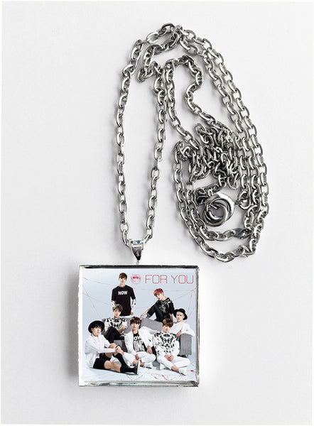 BTS Bangtan Boys - For You - Album Cover Art Pendant Necklace - Hollee