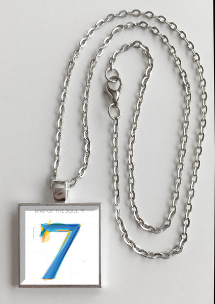 BTS Bangtan Boys - Map of the Soul 7 - Album Cover Art Pendant Necklace - Hollee