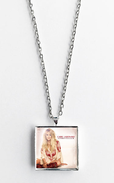Carrie Underwood - Storyteller - Album Cover Art Pendant Necklace - Hollee