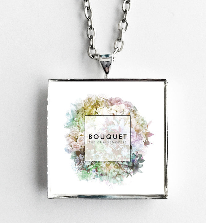 The Chainsmokers - Bouquet - Album Cover Art Pendant Necklace