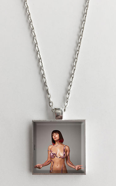Charli XCX - Charli - Album Cover Art Pendant Necklace - Hollee