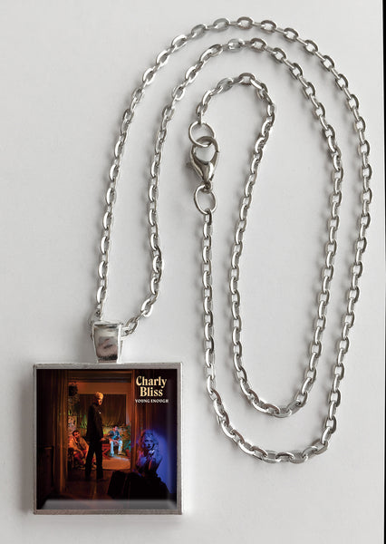 Charly Bliss - Young Enough - Album Cover Art Pendant Necklace - Hollee