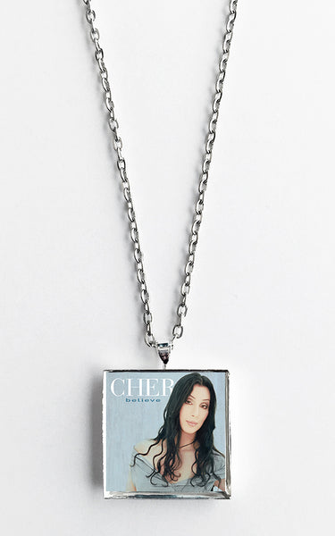 Cher - Believe - Album Cover Art Pendant Necklace