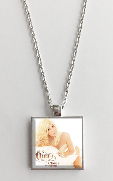 Cher - Closer to the Truth - Album Cover Art Pendant Necklace - Hollee