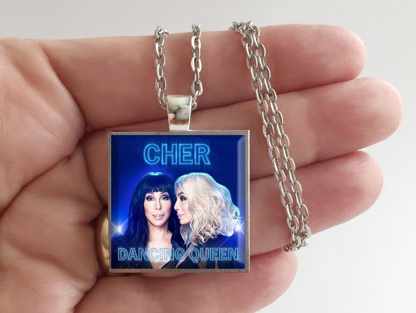 Cher - Dancing Queen - Album Cover Art Pendant Necklace - Hollee